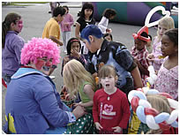 children love our clowns!